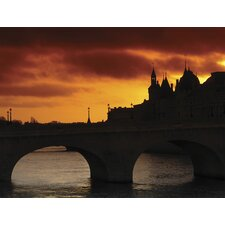 Ultimate Stone Bridge at Sunset Wall Mural