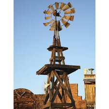 <strong>Brewster Home Fashions</strong> Ultimate Western Windmill Wall Mural