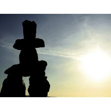 Ultimate Inukshuk symbol of friendship Wall Mural
