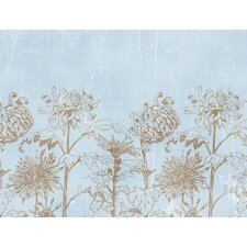 <strong>Brewster Home Fashions</strong> Ultimate Mums Wall Mural