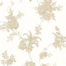 <strong>Brewster Home Fashions</strong> La Belle Maison Frond Leaf Trail Wallpaper