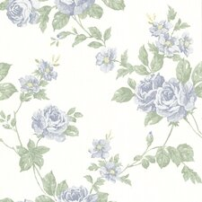 <strong>Brewster Home Fashions</strong> La Belle Maison Bloom Floral Trail Wallpaper