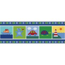 <strong>Brewster Home Fashions</strong> Kids World Alvin Wallpaper Border