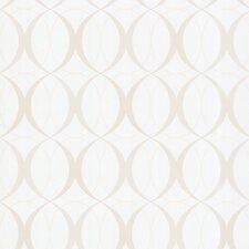 Zinc Circulate Retro Orb Wallpaper