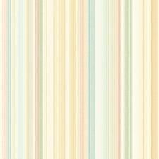 <strong>Brewster Home Fashions</strong> Springtime Cottage Stripe Wallpaper