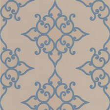 <strong>Brewster Home Fashions</strong> Decadence Sebastian Crepe Moroccan Medallion Wallpaper