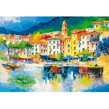 <strong>Brewster Home Fashions</strong> Ideal Decor Riviera Ligure Wall Mural