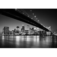 <strong>Brewster Home Fashions</strong> Ideal Decor Manhattan Skyline Wall Mural
