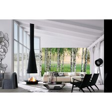 <strong>Brewster Home Fashions</strong> Ideal Decor Nordic Forest Large Wall Mural