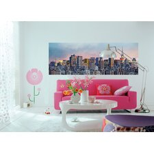 Ideal Decor New York Skyline Wall Mural