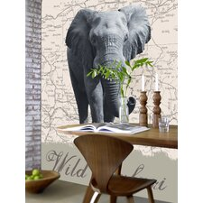 <strong>Brewster Home Fashions</strong> Ideal Decor Wild Safari Wall Mural