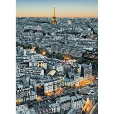 <strong>Brewster Home Fashions</strong> Ideal Decor Paris Aerial View Wall Mural