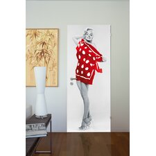 <strong>Brewster Home Fashions</strong> Ideal Decor Marilyn On the Beach Wall Mural