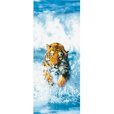 <strong>Brewster Home Fashions</strong> Ideal Decor Bengal Tiger Wall Mural