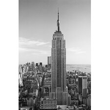<strong>Brewster Home Fashions</strong> Ideal Decor Empire State Building Wall Mural