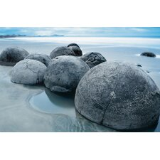 Ideal Decor Moeraki Evening Wall Mural
