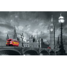 Ideal Decor Westminster Bridge Wall Mural