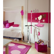 Euro Fairy Growth Chart Wall Decal