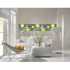 Euro World Of Butterflies Wall Stripe Decals