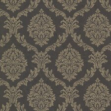 <strong>Brewster Home Fashions</strong> Buckingham Tennyson Shimmer Damask Wallpaper