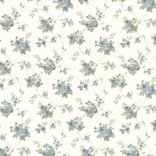 <strong>Brewster Home Fashions</strong> Dollhouse Isabella Rose Floral Trail Wallpaper