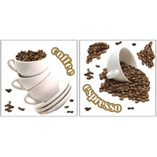 Home Décor Coffee Wall Decal