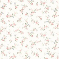 <strong>Brewster Home Fashions</strong> Dollhouse Fiona Sprigs Floral Toss Wallpaper