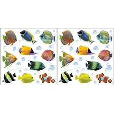 <strong>Brewster Home Fashions</strong> Home Décor Fish Wall Decal