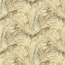 Pompei Acanthus Sculpted Floral Bontanical Wallpaper
