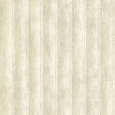 Pompei Campania Stripe Distressed Panel Wallpaper