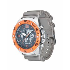 Active Precision 2.0 Watch in Taupe / Orange