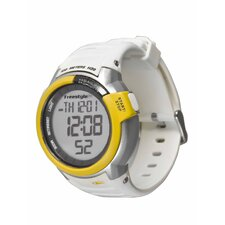 Performance Mariner Watch in White / Yellow