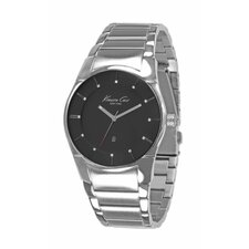 Men's Slim Bracelets Watch in Black