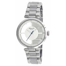 Women's Bracelets Watch in Silver White and Clear