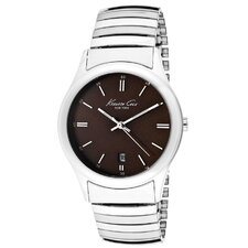 Men's Stretch Round Watch