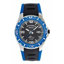 Men's Beach Cruiser Relax Watch in Black