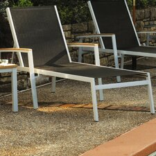 <strong>Oxford Garden</strong> Travira Chaise Lounge (Set of 4)