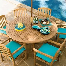<strong>Oxford Garden</strong> Round Classic 7 Piece Dining Set