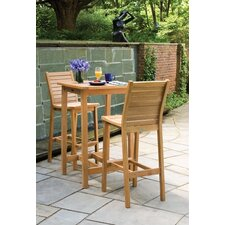 <strong>Oxford Garden</strong> Dartmoor 3 Piece Bar Height Dining Set
