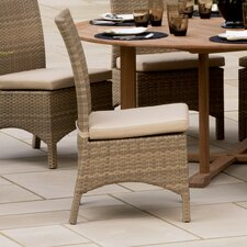<strong>Oxford Garden</strong> Torbay Dining Side Chairs with Cushions (Set of 2)