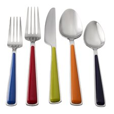 20 Piece Merengue Flatware Set