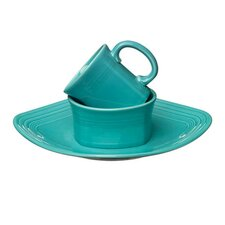 <strong>Fiesta Cookware®</strong> Mix 'n' Match Square 3 Piece Setting Dinnerware Set