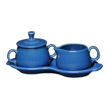 <strong>Fiesta Cookware®</strong> Sugar and Creamer Set