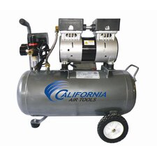 <strong>California Air Tools</strong> 6.3 Gallon Ultra Quiet and Oil-Free 1.0 HP Steel Tank Air Compressor