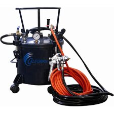 5 Gallon Pressure Pot with HVLP Spray Gun and Hose