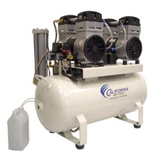 17.0 Gallon Ultra Quiet and Oil-Free 4.0 Hp  Steel Tank Air Compressor with Air Dryer and Aftercooler
