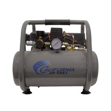 <strong>California Air Tools</strong> 2.5 Gallon Ultra Quiet and Oil-Free 1.0 Hp Steel Tank Air Compressor