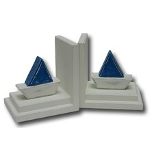 <strong>One World</strong> Barco Book Ends (Set of 2)