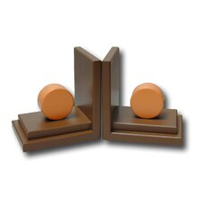 <strong>One World</strong> Circle Book Ends (Set of 2)