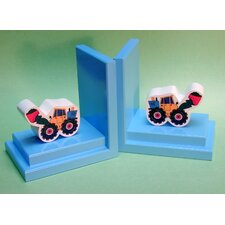 <strong>One World</strong> Loader Book Ends (Set of 2)